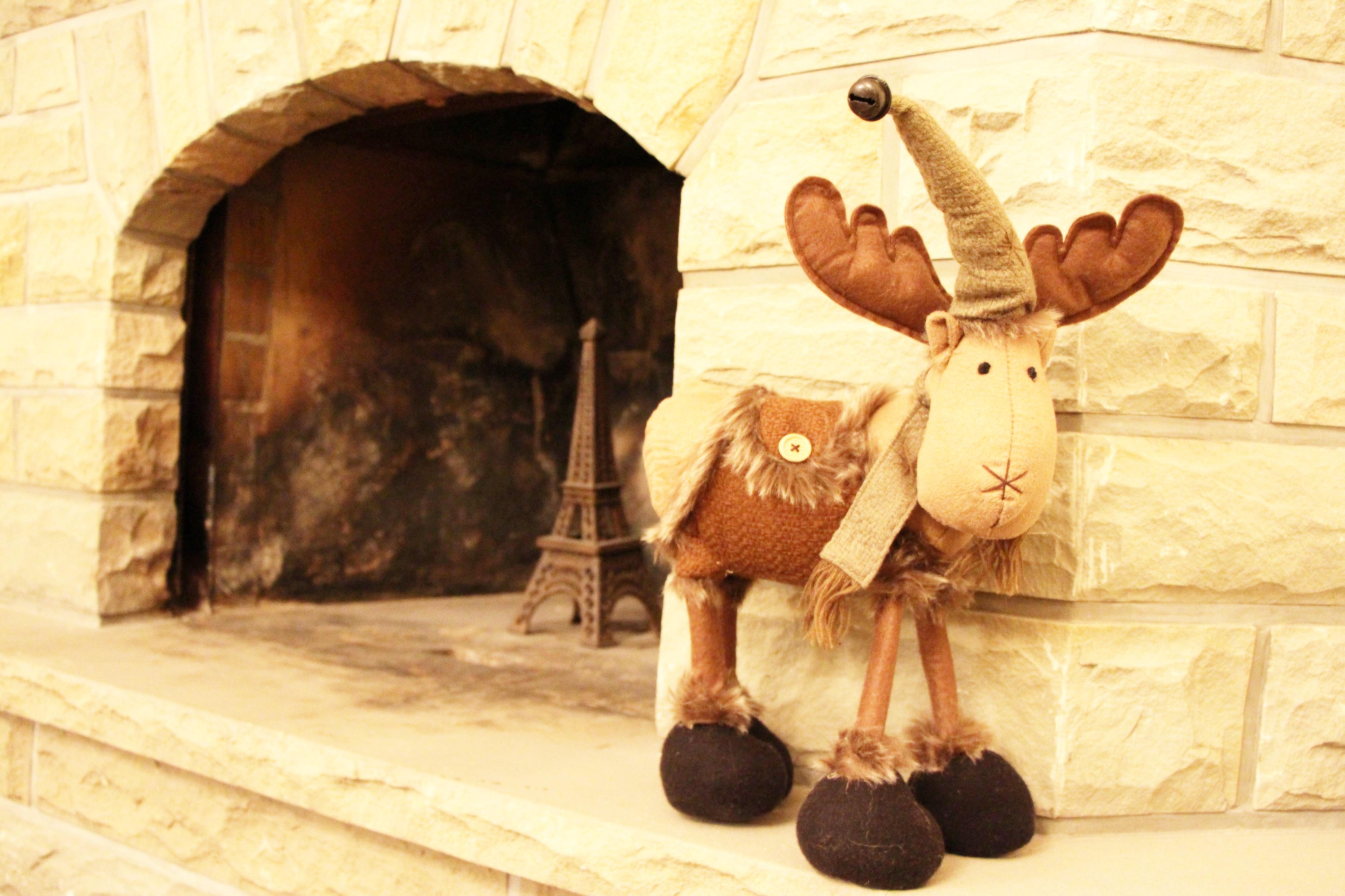 J aide maman pr parer la d coration de no l let 39 z be a for Decoration fenetre renne