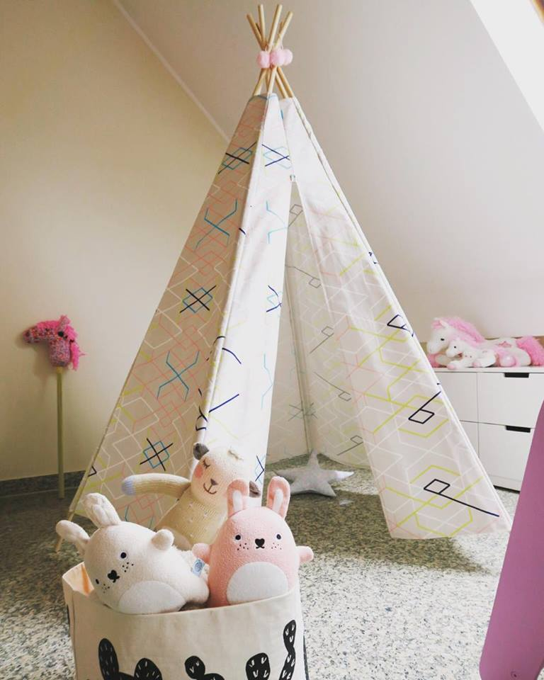 diy un tipi rien que pour elle let 39 z be a mum. Black Bedroom Furniture Sets. Home Design Ideas